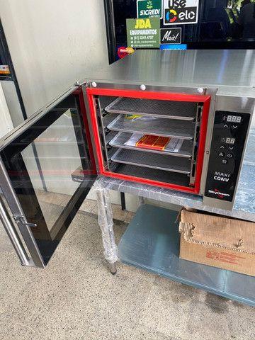Forno de convecção com vapor ideal para cafeterias , padarias, lanchonetes - pão de queijo - Foto 5