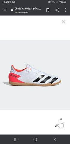chuteira futsal Adidas predator