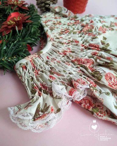 Vestido Casa de Abelha - M (3 a 6 meses) - Foto 3