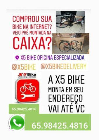 Montador de Bicicletas /Montagem de Bicicletas em seu local