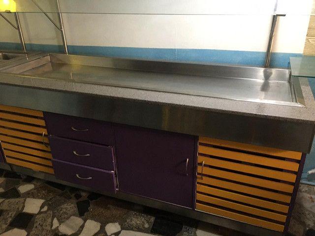 Mesa fria elétrica para restaurante/self-service  - Foto 3