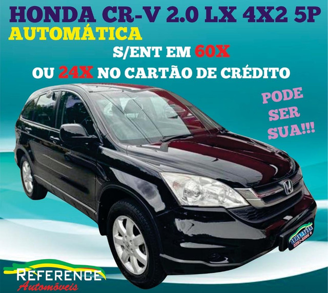 Honda crv automatica top flex bancos caramelo