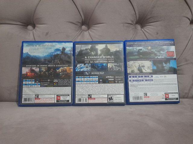 3 Jogos PS4 - Foto 2