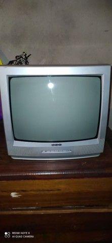 Vendo TV CCE TUBO 14 semi nova - Foto 3