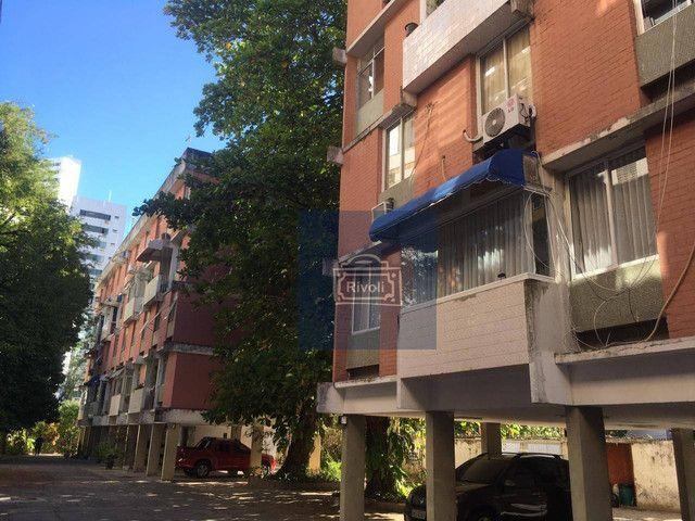 Apartamento com 4 dormitórios para alugar, 200 m² por R$ 1.900,00/mês - Boa Viagem - Recif - Foto 12