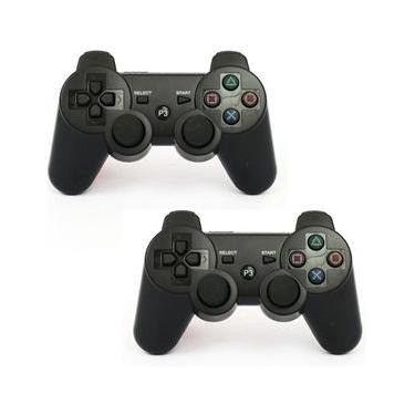 Controle Manete joystick sem fio Wireless Playstation 3 Play3 Play 3  - Foto 5