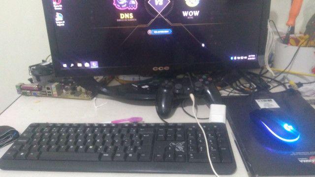 Vendo notebook i5 com monitor 24plg