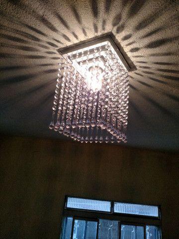 Lustre de cristal acrílico - Foto 3