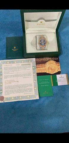 Relógio Rolex Oyster Perpetual Datejust a prova d'água Completo - Foto 6