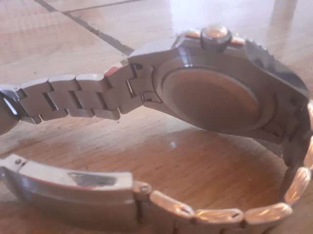 Rolex prata, com marcar de uso  - Foto 3