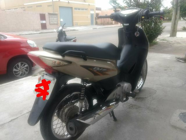 Biz 125 EX mix fuel injection