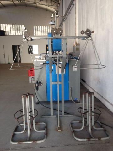 Industria metalurgica- Arame recozido BWG 18 - Maquina Automatica bobinadora fil duplo - Foto 3