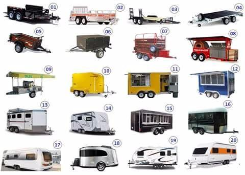 Fabricanye de food trailers