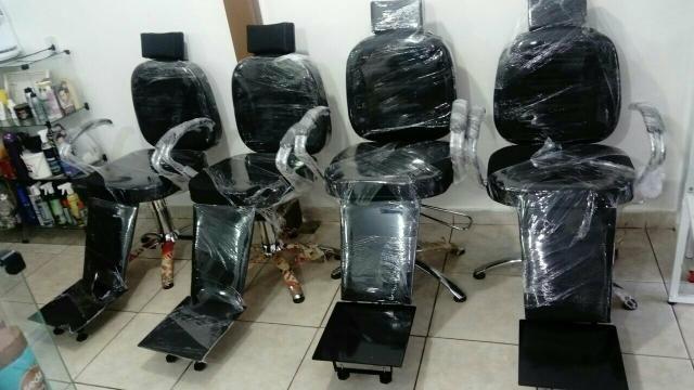 Top poltrona de barbeiro, hidraulica reclinavel