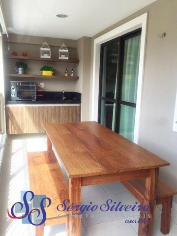 Apartamento à venda no Porto das Dunas com 3 quartos todo projetado Mediterranee - Foto 2