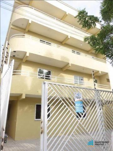 Apartamento residencial para locação, Guaribas, Eusébio.