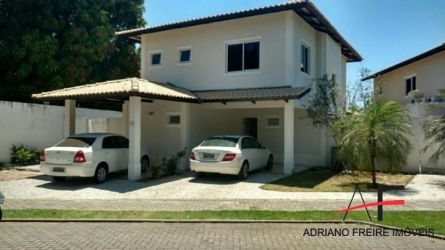 Excelente casa em condomínio, com 3 suítes no Eusébio