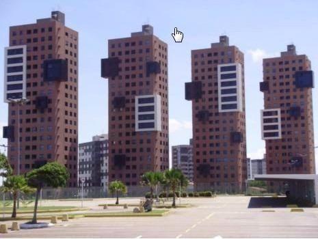 Vendo Apartamento no Condomínio Metrópoles, andar Alto, 56m² com 2/4 sendo 01 suite