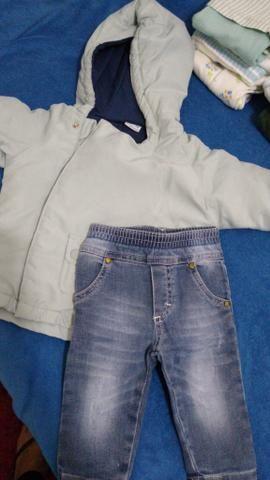 Lote bebê menino 0 a 6 meses - Foto 3