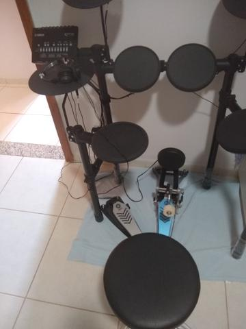 Bateria Dtx Yamaha 452 - Foto 6