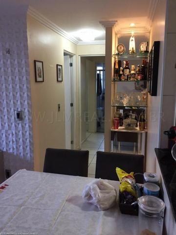 (Cod.:084 - Damas) - Mobiliado - Vendo Apartamento com 74m², 3 Quartos - Foto 17