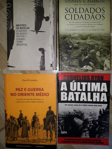 Livros sobre guerras