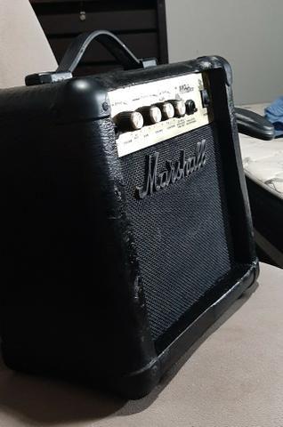 Cubo caixa amplificada Marshal MG 10 CD Troco por cubo de baixo e volto a diferença - Foto 2