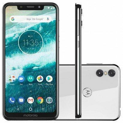Smartphone Motorola One Branco 4/64GB - Foto 6