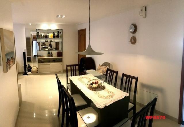 AP0967 Torre Espanha, apartamento na Aldeota, 3 suítes, móveis projetados, 2 vagas - Foto 2