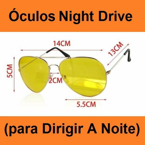 889e3c8db Óculos Bl Night Drive (para Dirigir A Noite) - Peças e acessórios ...