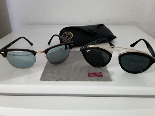 b4174f4c4dbcf Dois Óculos Ray Ban originais - Bijouterias