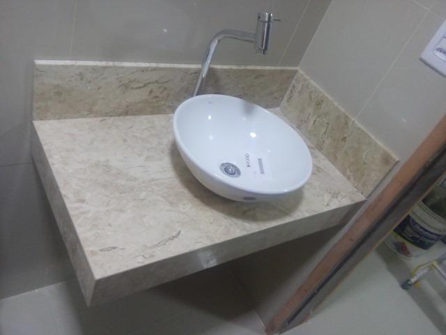 Bancada Pia para Cozinha e Banheiro Granito - Foto 5