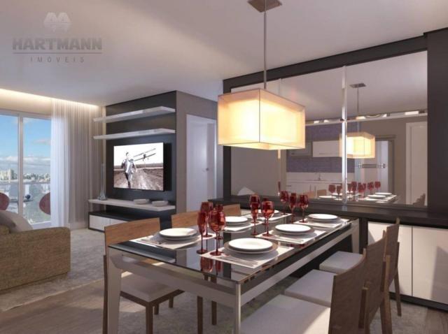 Apartamento com 3 dormitórios à venda por R$ 518.500,00 - Mercês - Curitiba/PR - Foto 13