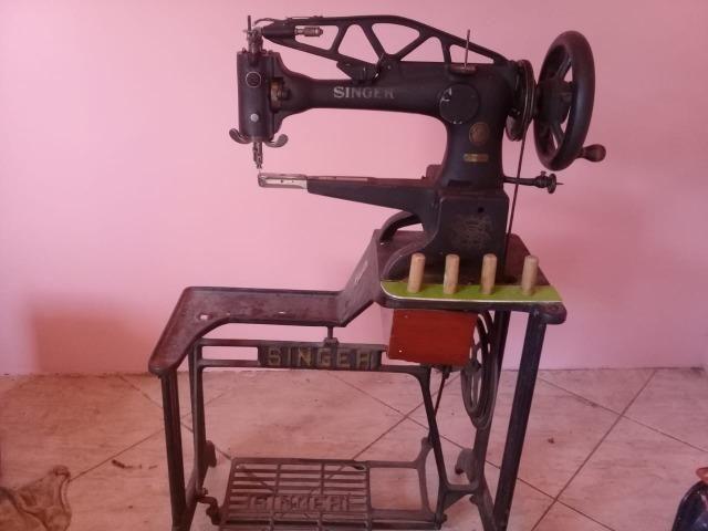 Maquina de costura de sapateiro - Foto 4