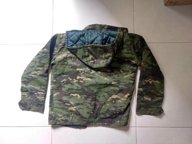 Jaqueta Camuflada tamanho M - Foto 4