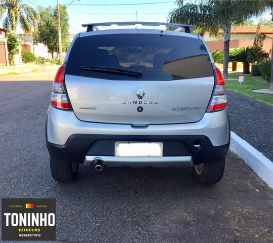 Renault Sandero Stepway 12/12 1.6 manual IPVA 2020 pago - Foto 5