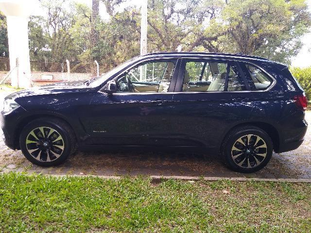 BMW X5 L6 Turbo 306cv 4X4 Zf 8marchas Teto Novisssima Unica no R.S - Foto 7