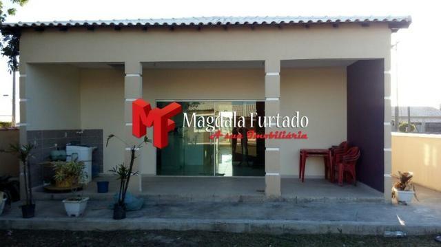4030 - Casa de 4 quartos, rebaixada em gesso, total conforto em Unamar - Foto 2