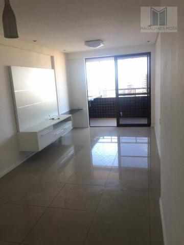 Apartamento com 3 dormitórios à venda, 73 m² por R$ 600.000 - Meireles - Fortaleza/CE - Foto 2