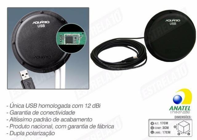 Antena Wi-fi Aquarios Painel Usb - Foto 2