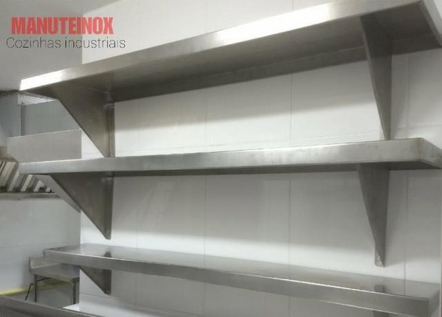 Coifas em inox para Restaurante, dutos e sistema de Exaustão - Foto 4