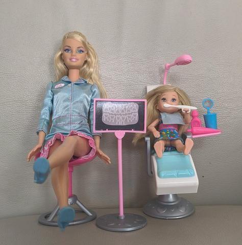 Barbie quero ser Dentista e Barbie quero ser Babá - Colecionador