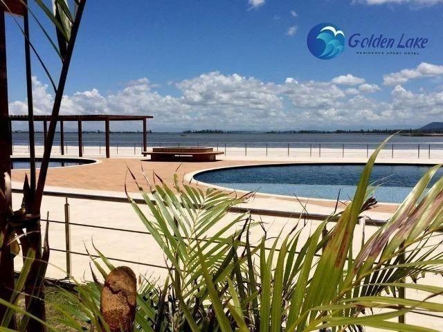 Golden Lake pronto 01 e 02 Qts com suite cozinha montada frente a lagoa Arraial do Cabo - Foto 15