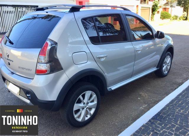 Renault Sandero Stepway 12/12 1.6 manual IPVA 2020 pago - Foto 6