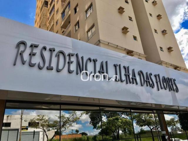 Apartamento com 2 dormitórios à venda, 55 m² por R$ 180.000,00 - Vila Rosa - Goiânia/GO - Foto 3