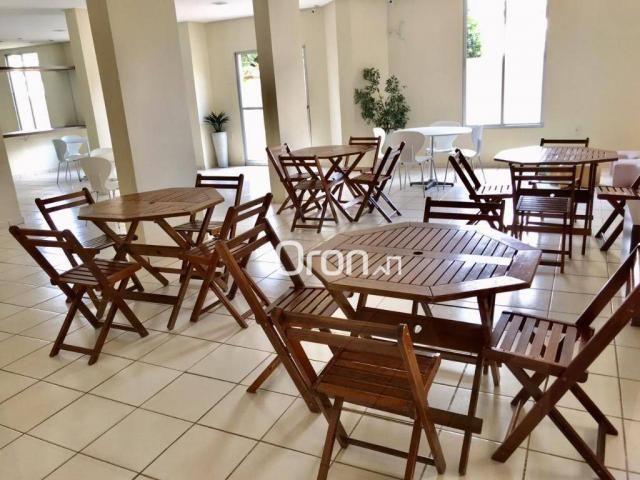 Apartamento com 2 dormitórios à venda, 51 m² por R$ 170.000,00 - Vila Rosa - Goiânia/GO - Foto 13