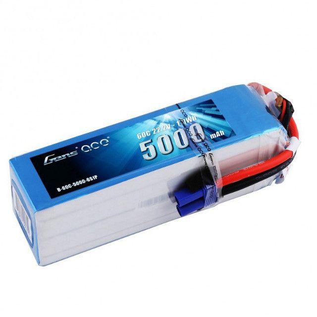 Bateria Lipo Gens 6s 22.2v 5000mah 60c