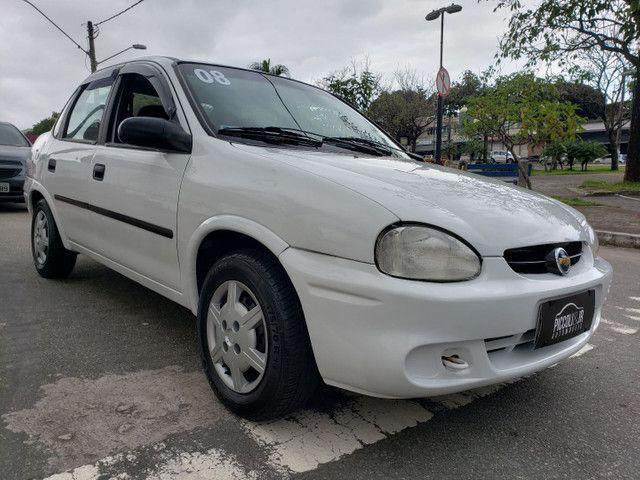 Chevrolet classic 1.0 completo vendo troco e financio R$ 18.900,00 - Foto 4