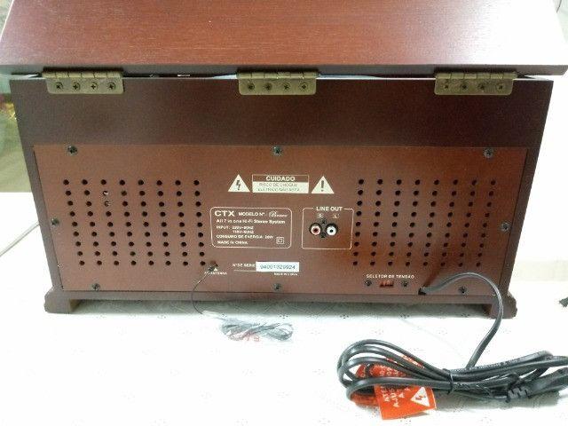Toca-discos CTX Bravo 7 em 1 - Foto 2
