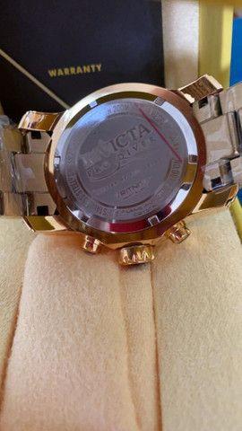 Relógio Invicta Pro Diver Lançamento Dourado a prova d'água - Foto 2
